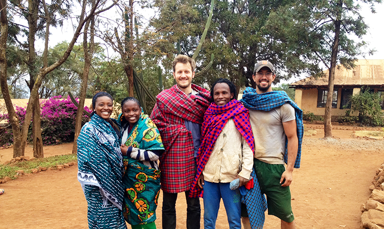 Rustic Pathways staff in Tanzania