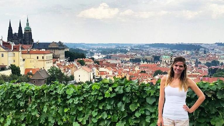 A view of Prague, Czech Republic