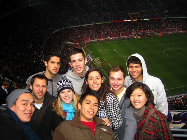 2009 champions league championship in Barcelona, Spain