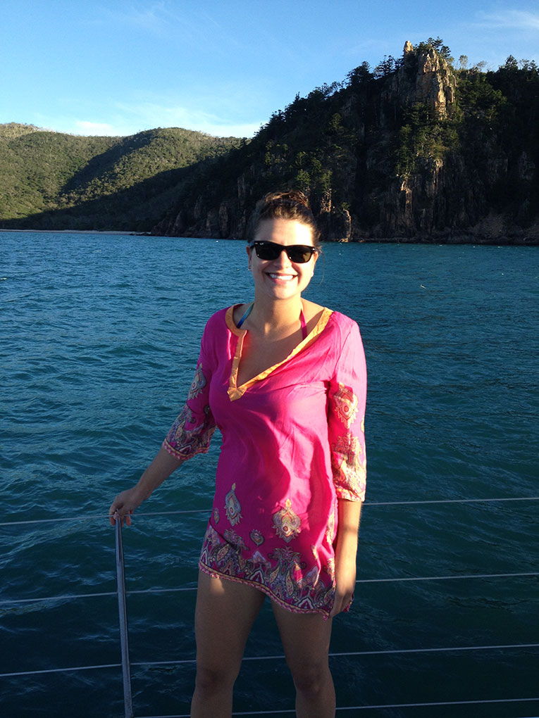 Boating in Whitsunday, Australia