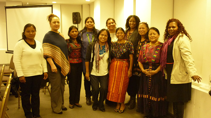 Program Coordinator of ISIS Belize with commissioners from the Inter American Commission on Human Rights in Washington D.C.