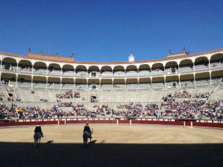 Las Venta Bullfighting Ring in Madrid, Spain