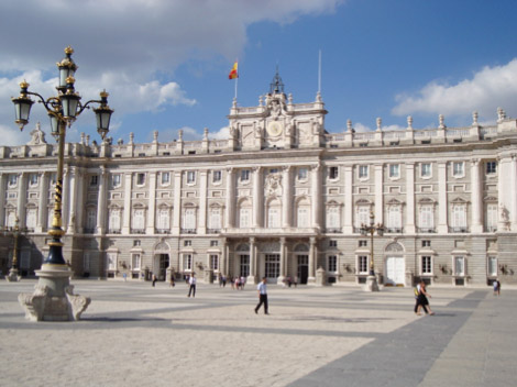 Palacio Real in Madrid, Spain.