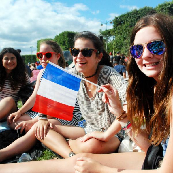 Paris, France, Teen Travel, France Language, Study French, Bastille Day, French Flag, Champ de Mars