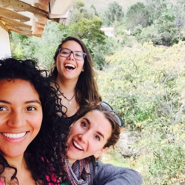 The 2015 interns excursion to Villa de Leyva