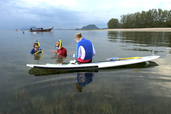 Students learn hands-on while surrounded by the beauty of the Andaman Sea in Southern Thailand