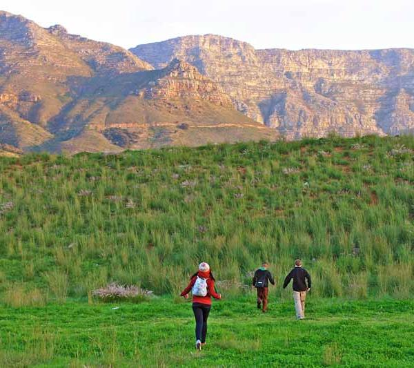 Trekking in South Africa with The Experiment