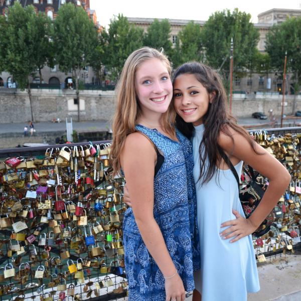 Paris, France, Teen Travel, Lock Bridge