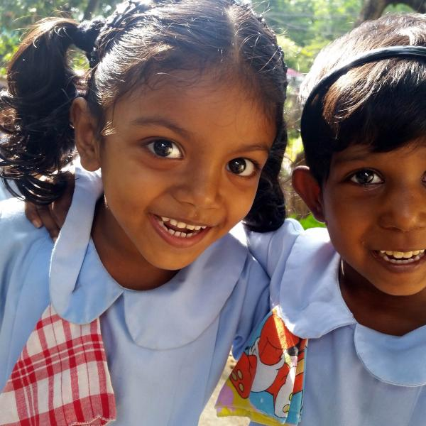Working with children in Sri Lanka and teaching