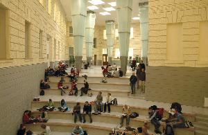 Atrium hall - open space