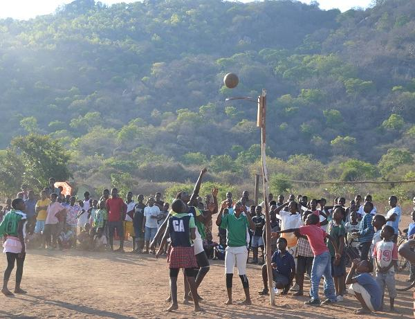 Netball sports volunteering Malawi