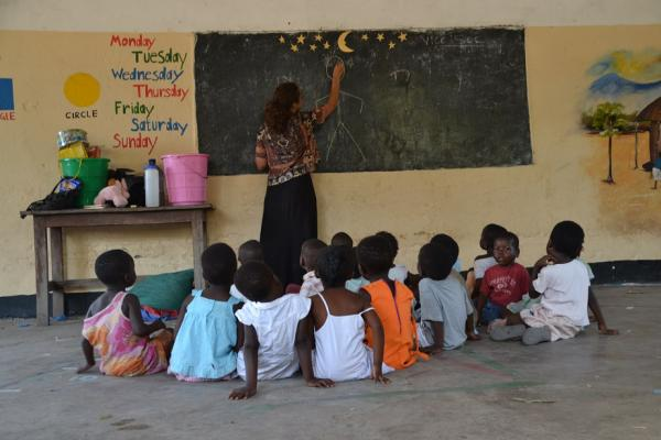 Nursery Pre-school volunteering