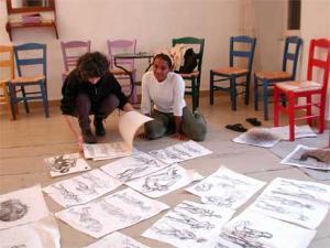 figure drawing, art history, Italy, Greece