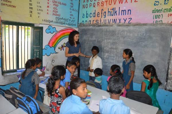 internship APCI teaching english