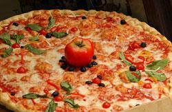 delicious yummy pizza