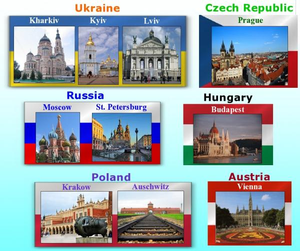 study abroad in Eastern Europe with EESA
