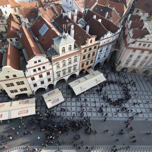 Prague city center
