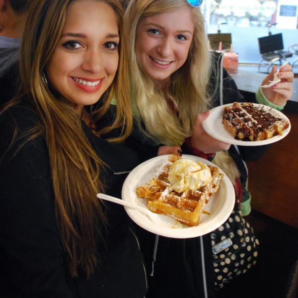 Belgian Waffles, Brussels, Bruges, Belgium, Teen Travel