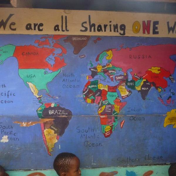 Working with Children in Kenya with Love Volunteers!