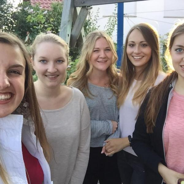 New friends in Germany!