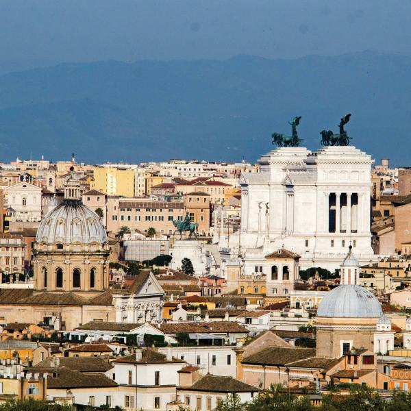 View of the historic city center of Rome taken by architecture student, Chris Andras during his semester in Rome.