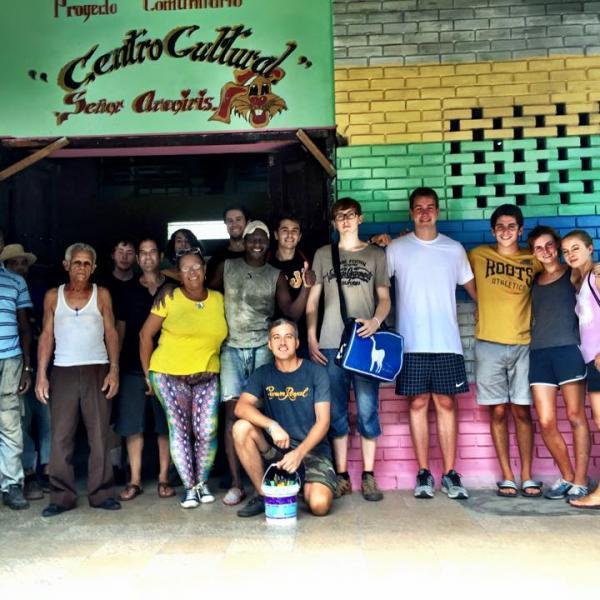 Volunteers at Arco Iris Community Centre, Centro Habana