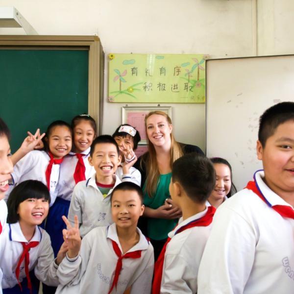 China, teaching, AYC, Ameson