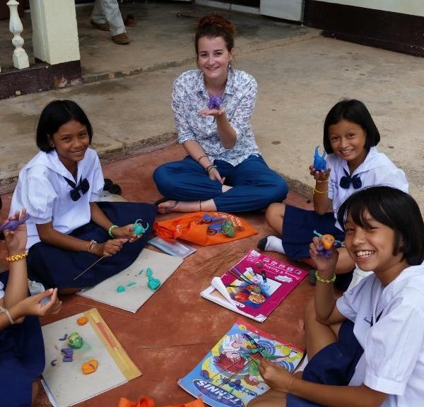 Teaching in Schools in Koh Samui with Love Volunteers!