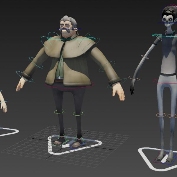 Animation by Nottingham Trent University students