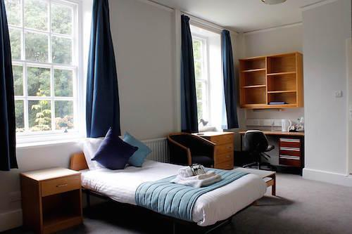 Bedroom at Eleanor Lodge, LMH, Oxford