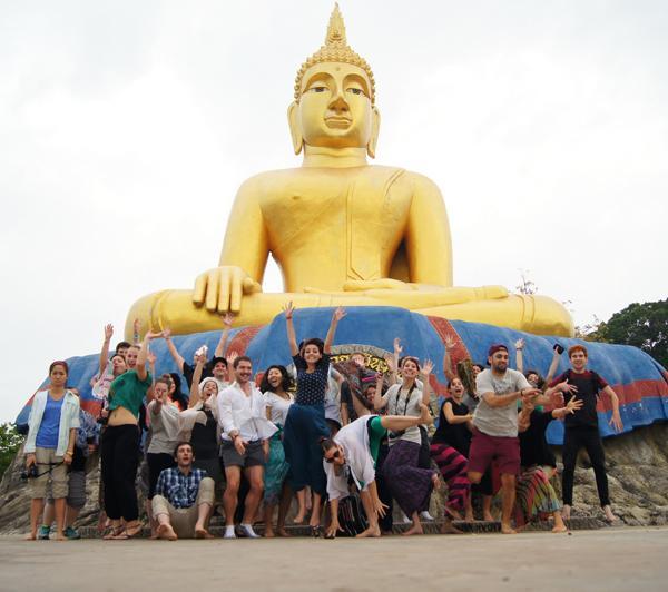 Internship orientation in Thailand