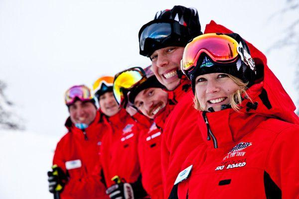 Ski Instructor and Snowboard Instructor courses