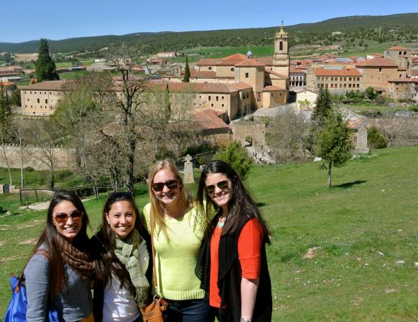 Students in Burgos, Spain