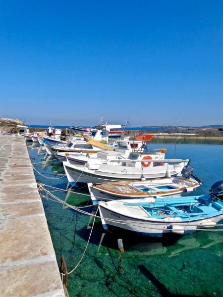 greece boats fishin coloful pretty