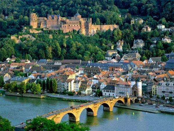 heidelberg german beautiful view