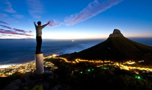 Cape Town Vista Night