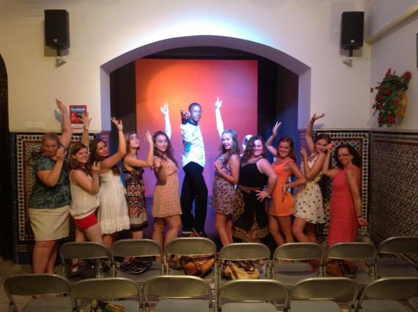Sevilla, Seville, Spain, Study Abroad, Intern, YES in Spain, Flamenco Show, High School Study Abroad
