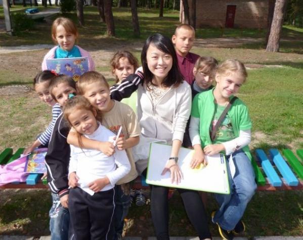 volunteer in Ukraine
