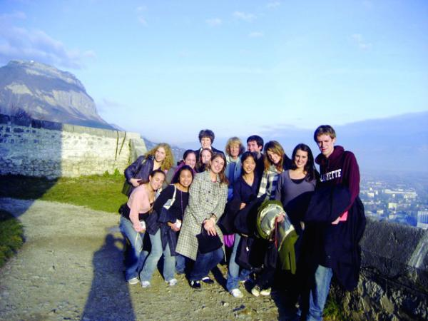 study abroad students in geneva