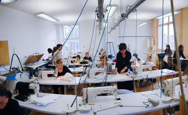 Sewing room ESMOD Paris