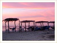 Beach Sunset in Nicaragua