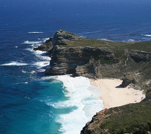 The view of Cape of Good Hope
