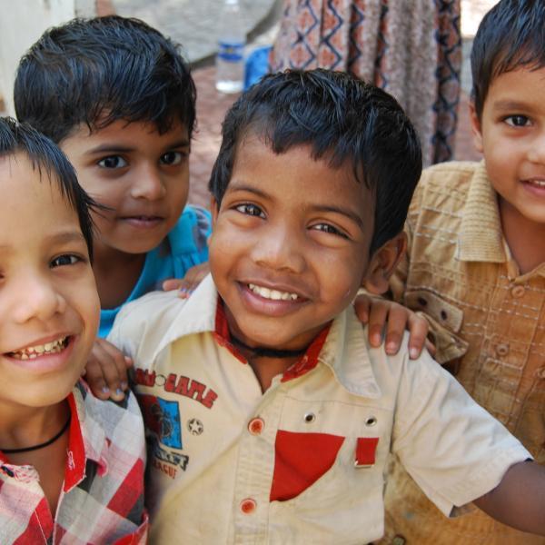 Children in Chennai, India