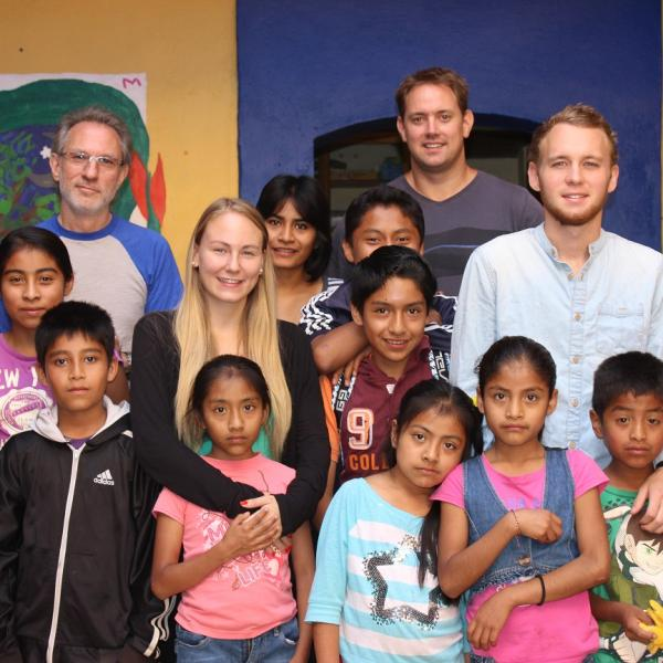 Working with Children in Mexico with Love Volunteers!