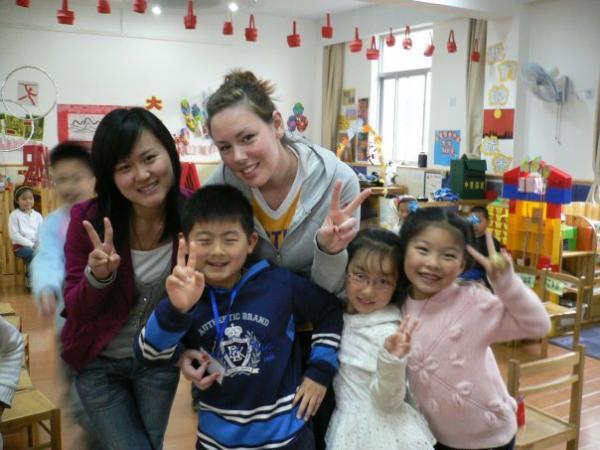 Teaching English abroad in China