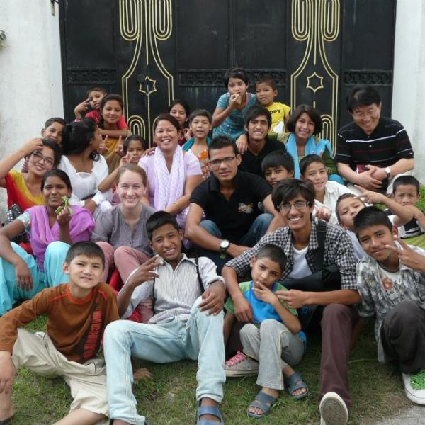 Working with Children in Nepal with Love Volunteers!