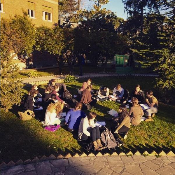 Italy, Rome, campus, study abroad