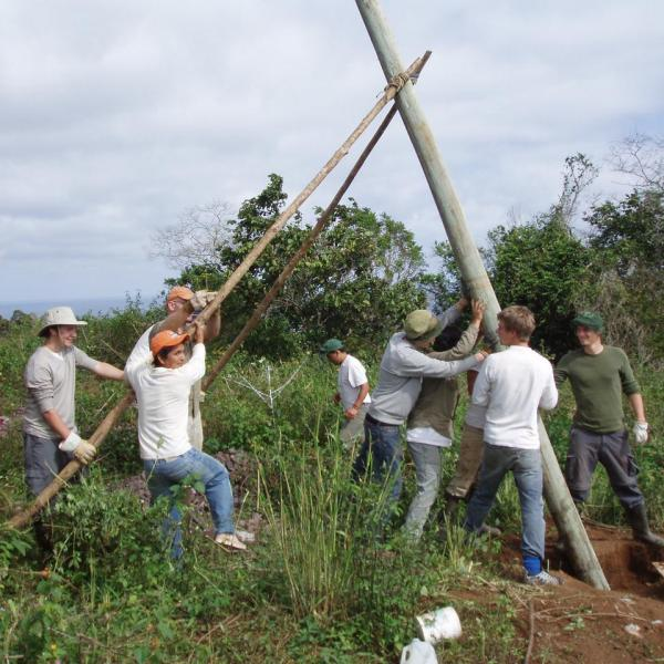 Conservation Program on the Galapagos Islands with Love Volunteers!