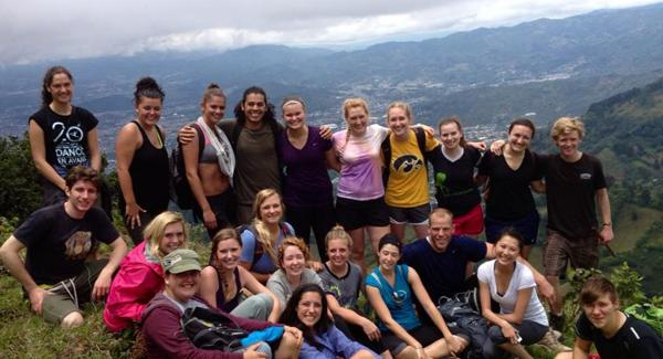 Group Hike in Costa Rica