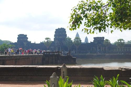 Angkor Wat Temple - visit during TEFL experience in Cambodia